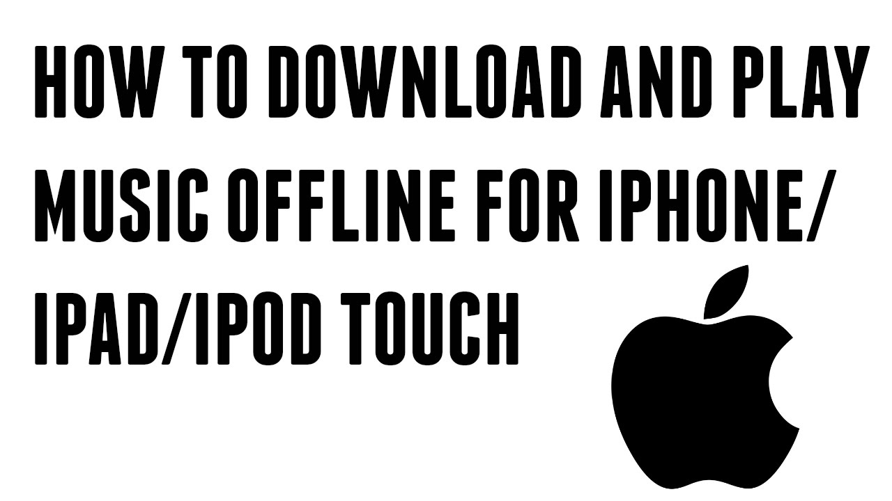 How to Download & Play Music/Videos OFFLINE For Free on