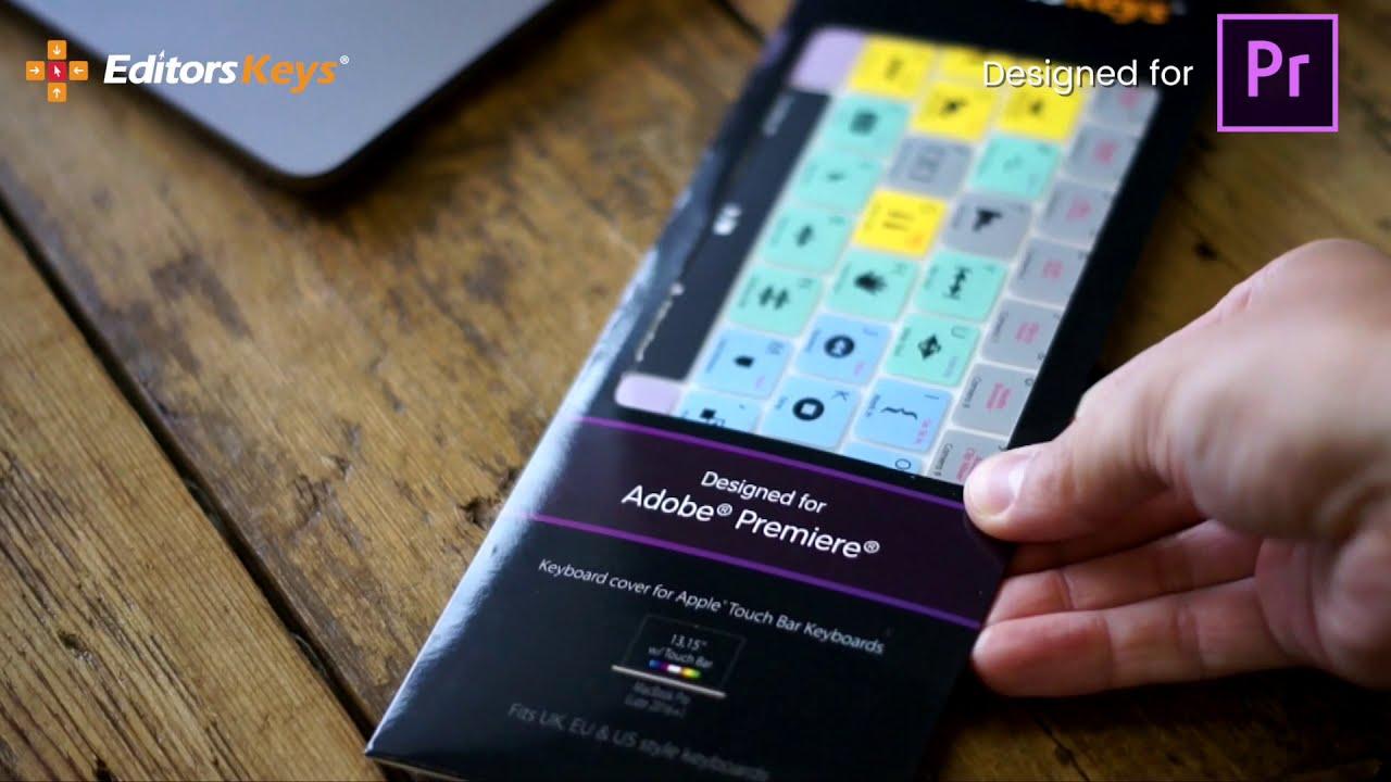 d6902376774 Adobe Premiere Keyboard Covers by Editors Keys - Edit Faster - YouTube