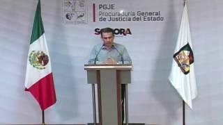 Rueda de Prensa - Procuraduría General de Justicia del Estado