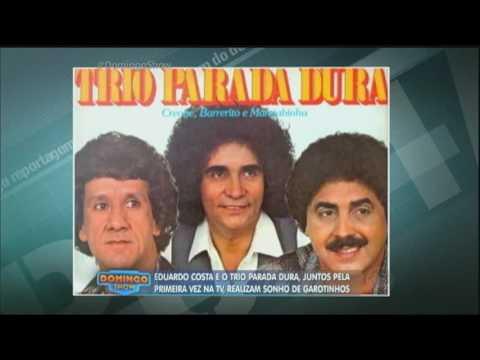 Domingo Show reúne Trio Parada Dura e Eduardo Costa em um encontro cheio de surpresas e emoções