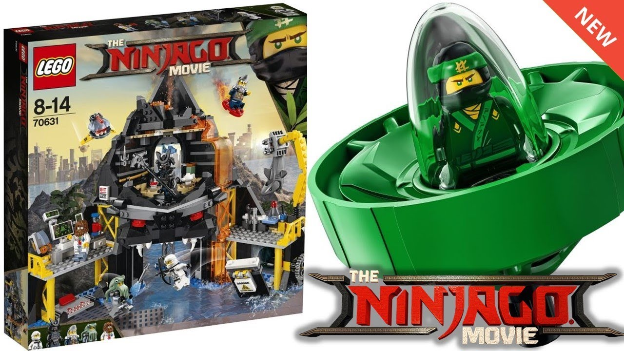 lego ninjago movie official 2018 sets images spinners. Black Bedroom Furniture Sets. Home Design Ideas
