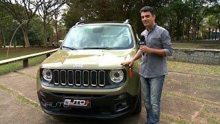 Jeep Renegade flex passa pela avaliação de Benê Gomes