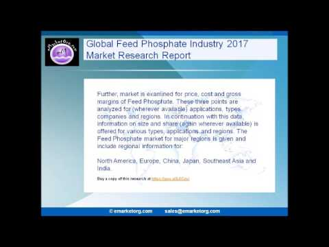 Learn details of the product overview and scope of worldwide Feed Phosphate market