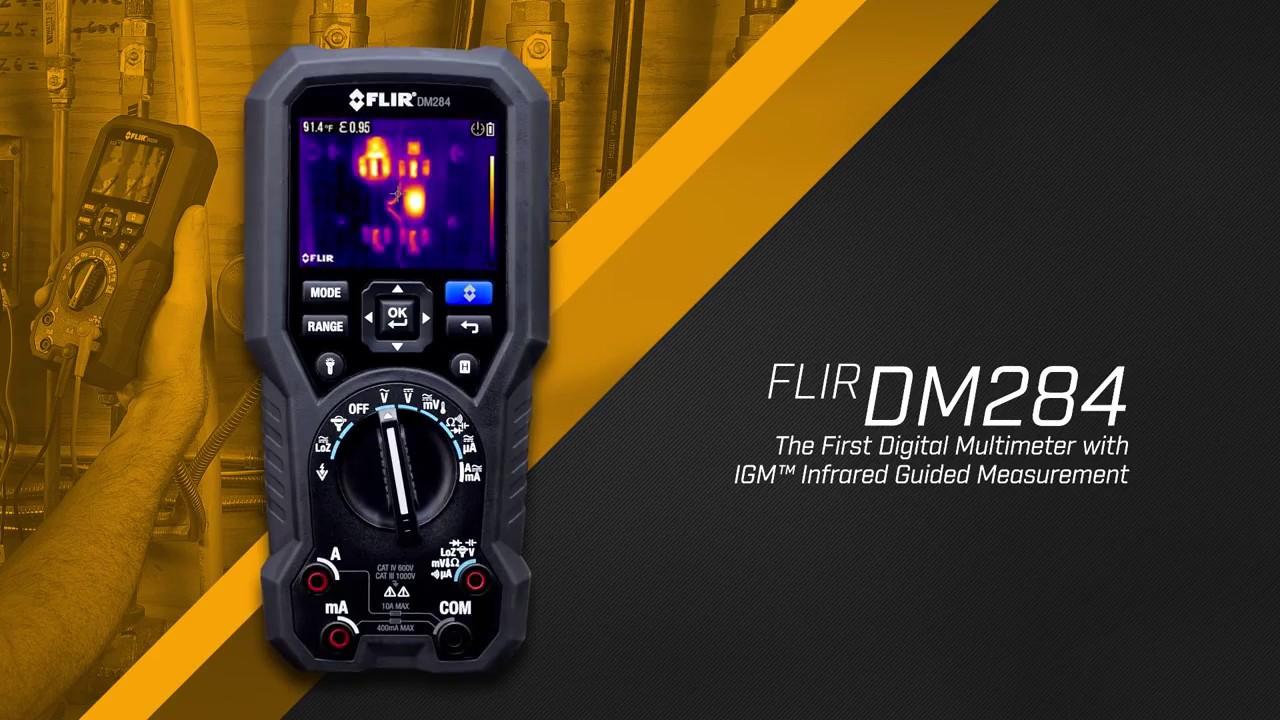 Summit Digital Meters : Flir dm digital multimeter with igm youtube