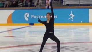 Юлия Липницкая.  КП. Открытые прокаты. Сезон 2015-2016 NEW