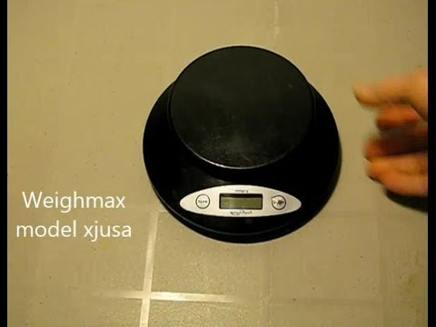 How To Repair A Weighmax Kitchen Scale With Bad Switch