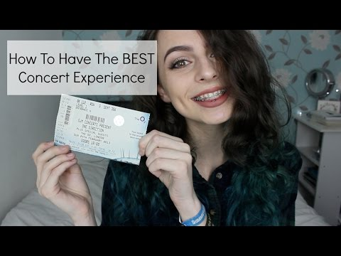 How To Have The BEST Concert Experience | Sophie Foster