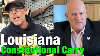 Louisiana constitutional carry bill introduced by Rep. Danny McCormick