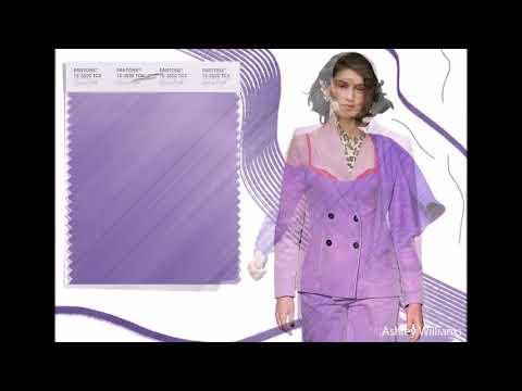 Модные цвета 2019 в женской одежде