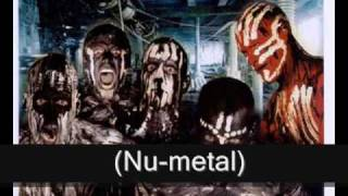 My other top progressive/nu-metal/metalcore/rap metal/alternative metal bands