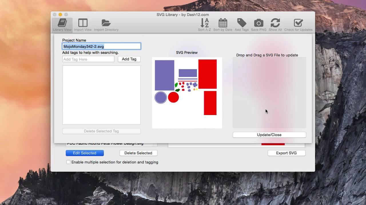 Updating SVG File