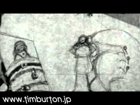 Tim Burton's early short  stalk of the celery monster