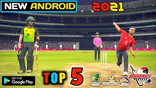 TOP 5 NEW ANDROID UPCOMING CRICKET GAMES IN 20/21 HIGH GRAP
