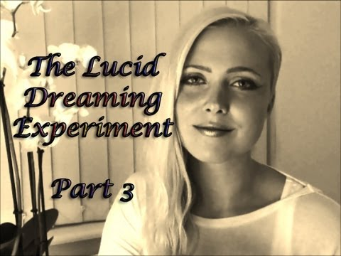 The Lucid Dreaming Experiment Part 3 *ASMR*