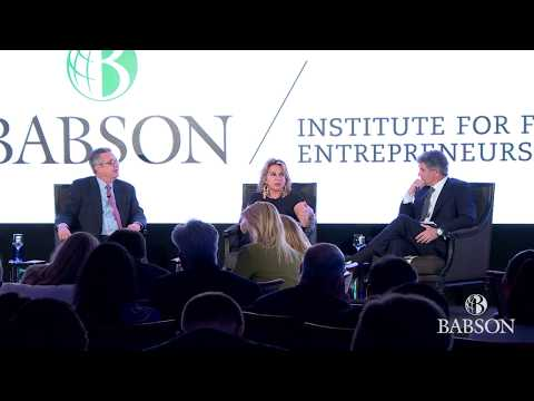 A Conversation on Family Entrepreneurship and Business: Babson Connect: Worldwide 2018