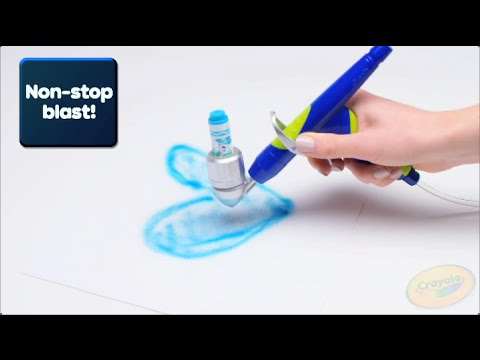 The All New Crayola Air Marker Sprayer