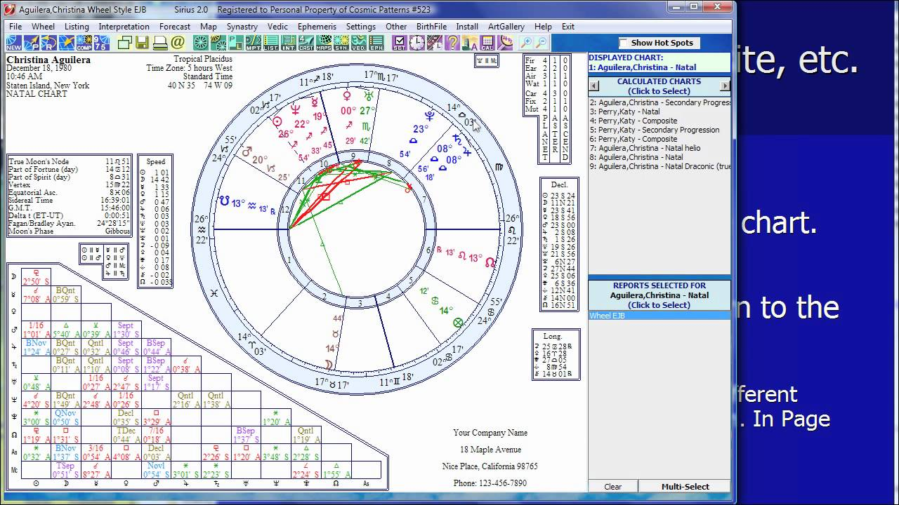 Advanced features of the kepler and sirius astrology software youtube advanced features of the kepler and sirius astrology software nvjuhfo Image collections