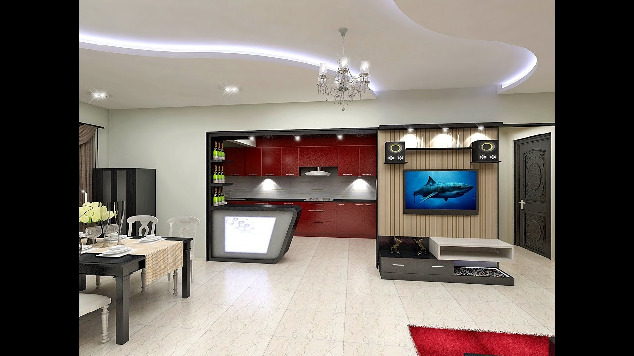 1 bhk flat interior design india - Casa Design Interiors