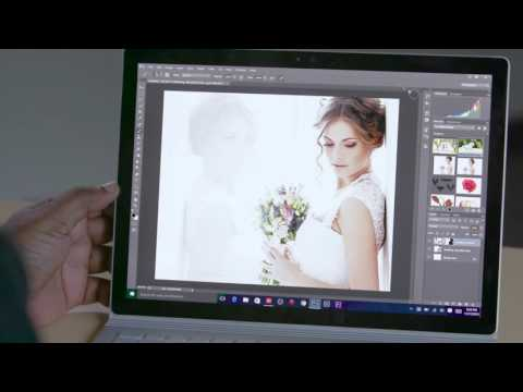 How To Take Advantage Of Adobe Photoshop CC On Microsoft Surface Book