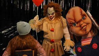 Кукла Чаки и Клоун Пеннивайз побеждены! ОНО #7 Nepeta Страшилки