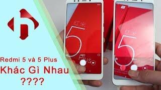Xiaomi Redmi 5 khác gì Redmi 5 Plus ? Bản 32GB - Ram 3GB, giá dưới 4 triệu | HungMobile