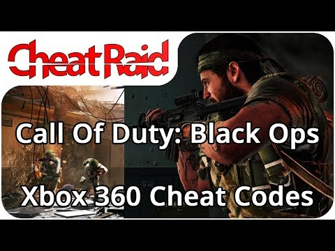 Call Of Duty: Black Ops Cheat Codes | Xbox 360
