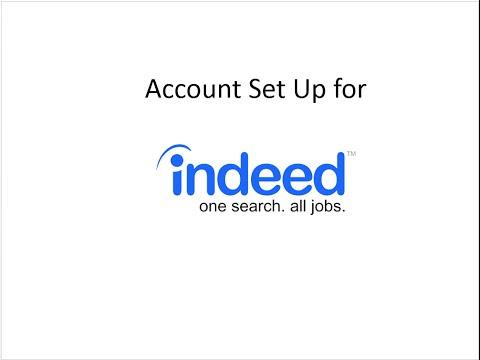 Indeed.com Workshop