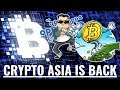 Asia is Back Buying Bitcoin
