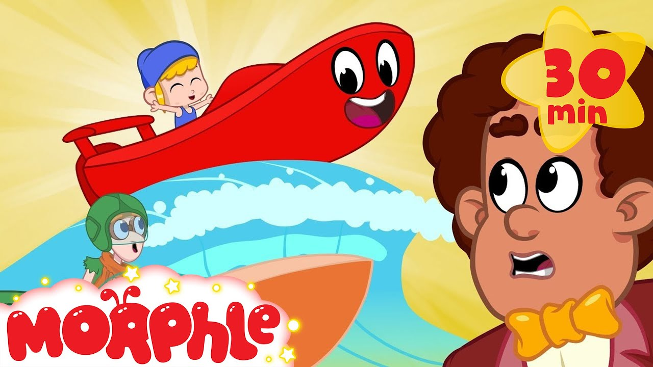 My Red Speed Boat - My Magic Pet Morphle | Cartoons For Kids | Morphle TV | Kids Videos