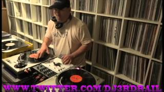 DJ 3RD RAIL WNUR DEDICATED HIP HOP MIXSHOW POSITIVE K STEP UP FRONT DOUBLES