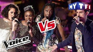 The Sugazz VS JJ - « Fiche le camp Jack » (Richard Anthony) | The Voice France 2017 | Battle