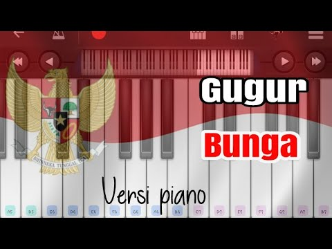 Gugur bunga _ismail marzuki versi piano
