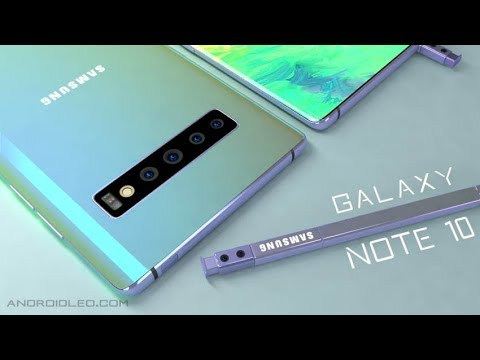 samsung galaxy note 10 5g introduction concept video. Black Bedroom Furniture Sets. Home Design Ideas