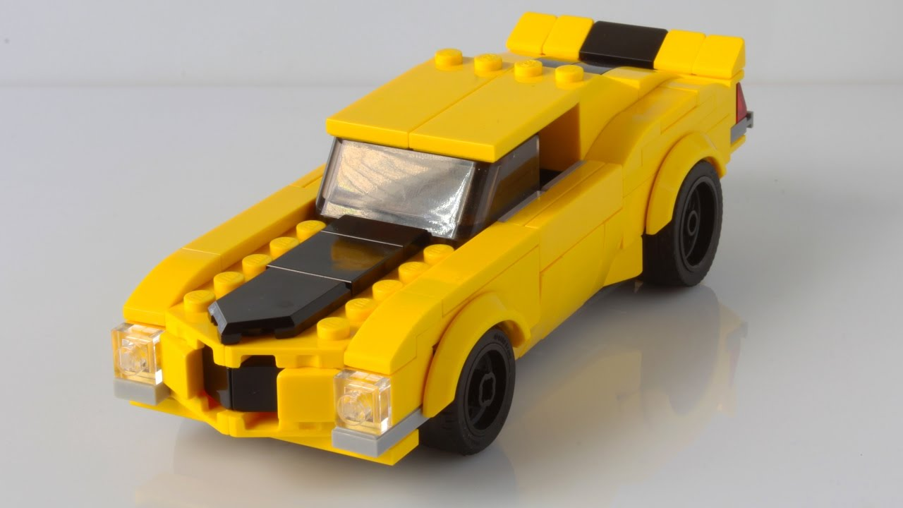 Lego Chevrolet Camaro As A Speed Champions Car Youtube