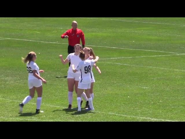Olivia Moultrie 2019 Thorns DA Minutes (4 games)