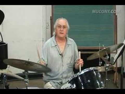Manhattan School faculty Justin DiCioccio's Jazz Drum Lesson