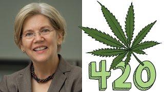 Elizabeth Warren Open to Cannabis Legalisation