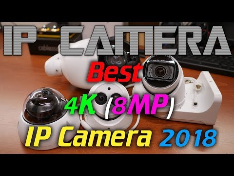 IPcam: Best 4K (8MP) IP camera of 2018 (Demo footage!)