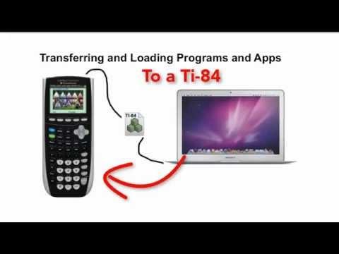 Transferring Files To The TI-84
