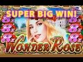 *NEW SLOT* Wonder Rose Slot - **SUPER BIG WIN** - Slot Machine Bonus