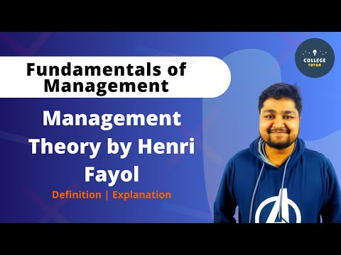 Management Theory By Henri Fayol | Fayol Principles | Fundamentals Of Management