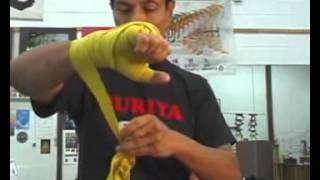 Как правильно наматывать бокс бинты