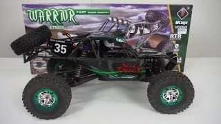WL Toys 1/10 A333/K949 4WD Warrior Wild Truck Unboxing