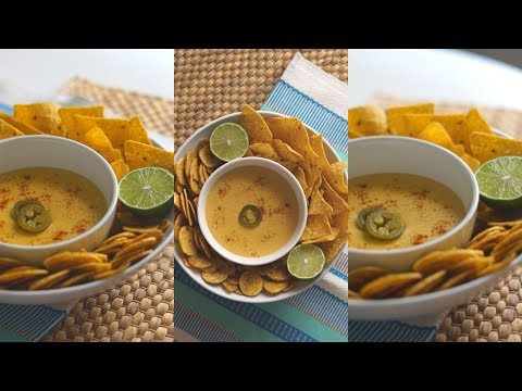 Vegan Nacho Cheese Recipe! Oil-Free + Healthy