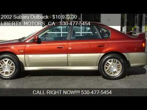 2002 Subaru Outback H6 30 Vdc Sedan For Sale In Grass Val Youtube