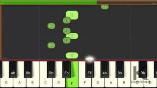 tutorial teclado mc aw eu vou beijar dj vitinho nunes