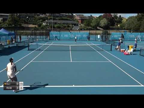 Elie Jennifer v Robson Laura - 2018 ITF Burnie