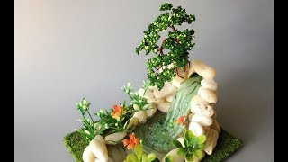 ABC TV | How To Make A Bonsai Tree And Waterfall Miniature - Craft Tutorial #3