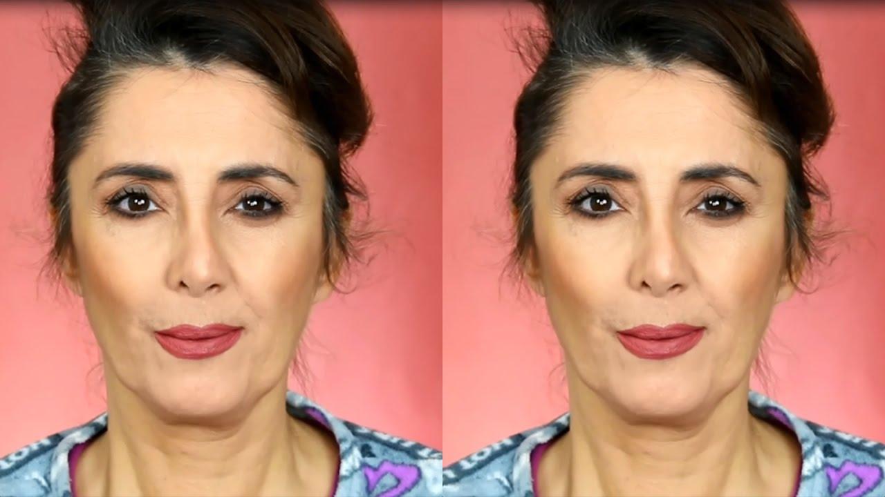 16005a098 how to hide wrinkles using makeup طريقة إخفاء التجاعيد بالمكياج ...