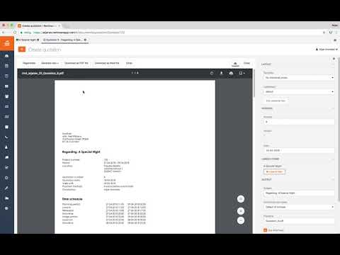 How-to: generate and send out a quote in Rentman